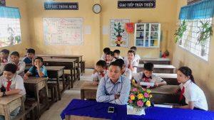 Anh Lê Minh Thiện -Bí thư xã đoàn tham dự